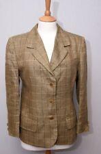 Atholl Countrywear women's smart Irish linen blazer sports jacket size uk 8