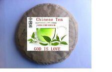 Organic top grade unfermented Pu erh large leaf  tea cake 1071 gram bag packing