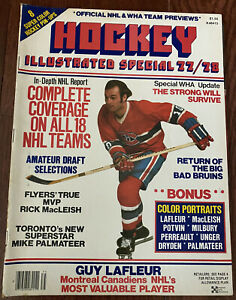HOCKEY ILLUSTRATED SPECIAL 77/78 FEATURING GUY LAFLEUR OF MONTREAL