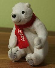 Eisbär Anhänger CocaCola Schlüsselanhänger Höhe~10cm mit Geldfach