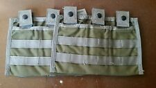 Eagle Allied Industries 7P200, Carrier MOD 3MAG (M-4A1) Pouch lot of 2