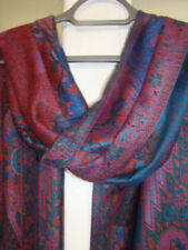 Viscose/Rayon Paisley Rectangle Women's Scarves and Shawls