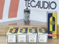 PCF80  VALVO  VALVULA   ( ELECTRONIC TUBE )   LOTE DE 2 VALVULAS
