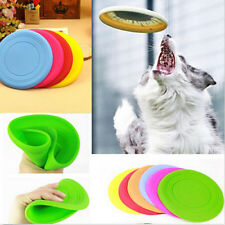 1PC Flying Disc Tooth Resistant Outdoor Large Dog Training Fetch Toy