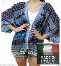 Polyester Kimono Thin Knit Jumpers & Cardigans for Women