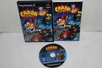 Crash Tag Team Racing (Sony PlayStation 2, 2005) PS2 Game Complete TESTED