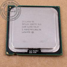 Intel Core 2 Duo e6600 - 2.4 GHz (hh80557ph0564m) lga775 sl9zl sl9s8 CPU 1066mhz