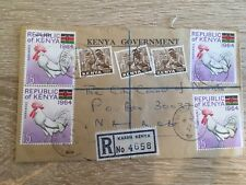 Postal History Kenya 1965 Registered Cover from Karen to Nairobi