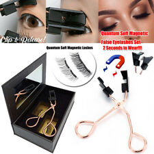 No Glue Need Eyelashes Magnetic Eyelash Curler Quantum Magnetic False Eyelashes