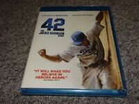 42 The Jackie Robinson Story: Blu-ray,2013 Chadwick Boseman,Harrison Ford SEALED