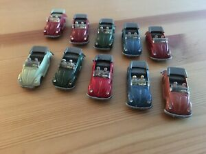 1960s Wiking Volkswagen VW Beetle Convertibles - Instant Collection Of 10 L@@k