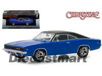 Greenlight 1:43 Christine Movie Dennis Guilder's 1968 Dodge Charger Blue 86531