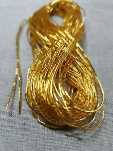 10M IMITATION JAPANESE GOLD THREAD No.9 FOR GOLDWORK EMBROIDERY COUCHING