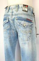 CIPO & BAXX Herren Jeans Gr. W29L32 W32L32 Blau NEU Nähte (19)