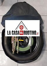 """RUOTINO DI SCORTA SKODA OCTAVIA ORIGINALE 16""""+CRIC OMAGGIO+CHIAVE+SACCA"""
