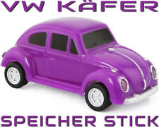 VW KÄFER / BEETLE – USB Speicher Stick 8 GB Flash Drive Auto Car lila