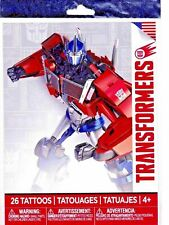 1 package of 26 assorted Transformers temporary tattoos new