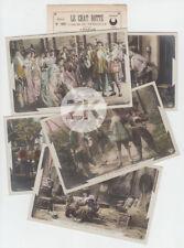 LE CHAT BOTTE Féerie CAPELLANI Conte Cinématographe Perrault PATHE 5 Photos 1908