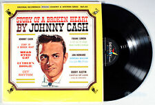 Johnny Cash - Story of a Broken Heart (1962) Vinyl LP •PLAY-GRADED• Frank Simon