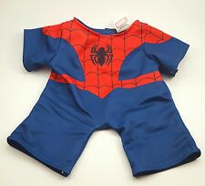 Bulid a Bear Spiderman Outfit Only No Mask BABW