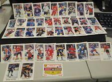1987 O-Pee-Chee Minis Hockey 42 Card Set - Includes Checklist      ENN COINS