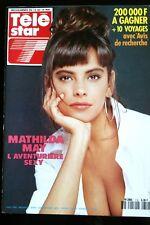 TELE STAR du 7/5/1990; Mathilda May/ Rick Hunter/ Charles Trenet/ Michel Berger
