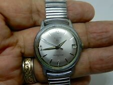 Vintage Elgin Selfwinding Watch W/Speidel Calendar Band 1974