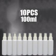 10PCS 100ml Travel White Plastic Perfume Atomizer Empty Spray Bottle Reuse