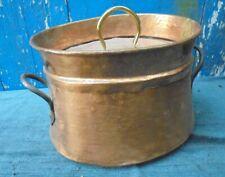 ancienne DAUBIERE en CUIVRE French copper kitchen