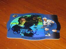 Brett Hull Autographed Hockey Trading Card JSA Auc Cert