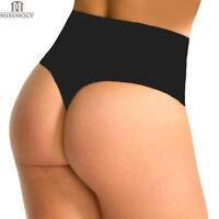 Women Waist Cincher Girdle Tummy Slimmer Body Briefs Sexy Thong Panty Shapewear