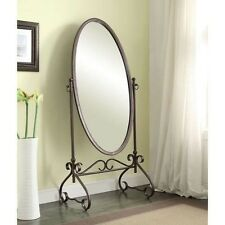 Oval Cheval Antique Style Floor Mirrors Large Full Length Master Bedroom Mirror