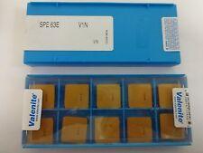 VALENITE SPE-63E V1N INSERT PK10