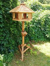 Vogelhaus,Vogelstation, Holzvilla,Vogelfutterhaus, Vogelhäuschen, auch Ständer