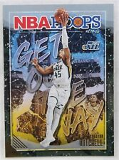 2019-20 NBA Hoops Get Out the Way Gold Insert Donovan Mitchell #6 Utah Jazz