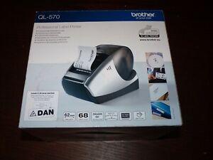 Brother QL-570 Label Thermal Printer