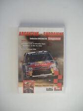 DVD collection ECHAPPEMENT - WRC 2009 ARGENTINE & SARDAIGNE