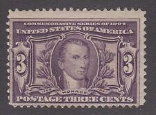 USA MINT OG Scott #325  3 cent  Louisiana Purchase   F   **