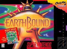 EARTHBOUND SNES SUPER NINTENDO GAME