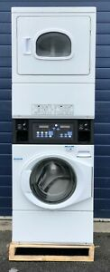 Ipso ILC 98 9.5KG Coin-Op Stacked Boiler Fed Washer/Electric Dryer