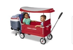 Radio Flyer 3-In-1 Tailgater Wagon With Canopy, Model #3963