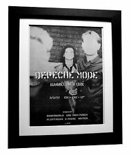 DEPECHE MODE+Barrel Of Gun+POSTER+AD+RARE ORIGINAL 1997+FRAMED+FAST GLOBAL SHIP
