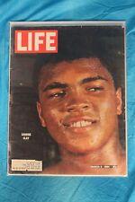 1964 Muhammad Ali - Cassius Clay 1st LIFE Magazine