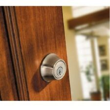 Kwikset Single Cylinder Deadbolt Door Lock Smart Keyed Entry Exterior Security