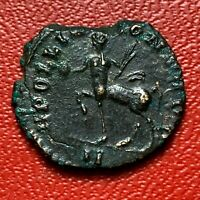 #4316 - RARE - Romaine  Antoninien - Gallien - APOLLINI CONS AVG - FACTURE