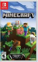 Minecraft Nintendo Switch and Switch Lite Includes Super Mario Mash-Up - New!