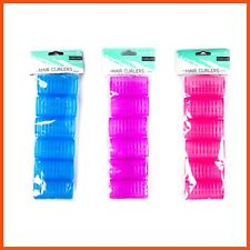 72 x HAIR CURLERS | Rollers Hair Accessories Styling Curls No Heat Wet Dry Night