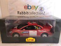 """DIE CAST """" PEUGEOT 307 WRC - 2004 M. GRONHOLM """" RALLYE ALTAYA  SCALA 1/18"""