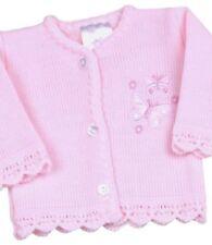 Ropa rosa de punto para niñas de 0 a 24 meses