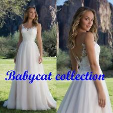 Spitze A-Linie Brautkleid Hochzeitskleid Kleid Braut Babycat collection BC852 46